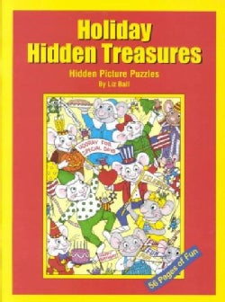 Holiday Hidden Treasures: Hidden Picture Puzzles for Special Celebrations (Paperback)