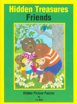 Friends Hidden Treasures: Hidden Picture Puzzles (Paperback)