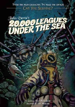 Jules Verne's 20,000 Leagues Under the Sea: A Choose Your Path Book (Paperback)