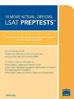 10 More Actual, Official LSAT PrepTests (Paperback)