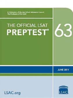 The Official LSAT Preptest 63: June 2011  (Paperback)