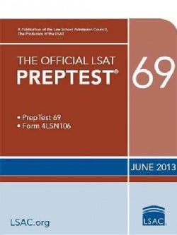 The Official LSAT Preptest 69: June 2013 Lsat (Paperback)