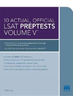 10 Actual, Official LSAT Preptests (Paperback)