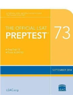 The Official LSAT Preptest 73 (Paperback)