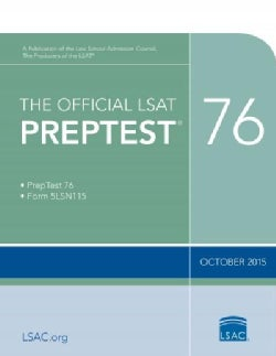 The Official LSAT Preptest: October 2015 (Paperback)