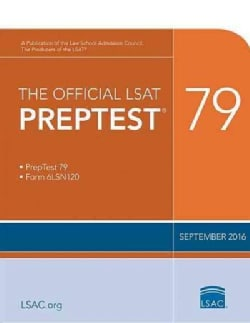 The Official Lsat Preptest 79: Sept. 2016 Lsat (Paperback)