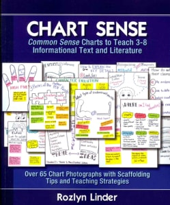 Chart Sense: Common Sense Charts to Teach 3-8 Informational Text and Literature (Paperback)