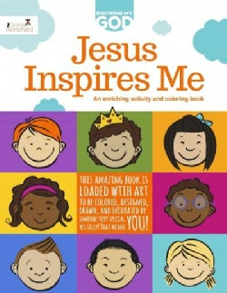 Jesus Inspires Me: An Enriching Activity & Coloring Book (Paperback)