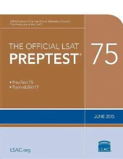 The Official LSAT Preptest 75: June 2015 (Paperback)