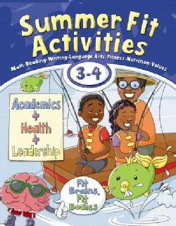 Summer Fit Activities Third to Fourth Grade (Paperback)
