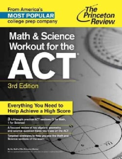 The Princeton Review Math and Science Workout for the ACT (Paperback)