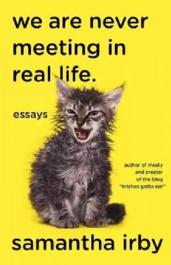 We Are Never Meeting in Real Life: Essays (Paperback)