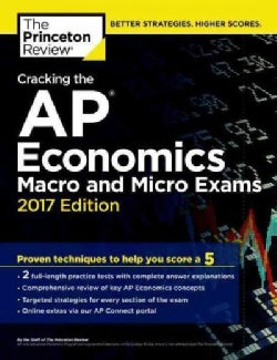 Cracking the AP Economics Macro & Micro Exams 2017 (Paperback)