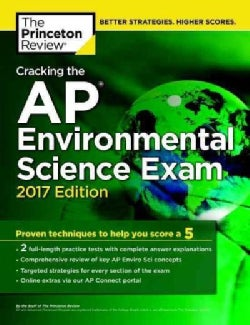 Cracking the Ap Environmental Science Exam 2017 (Paperback)