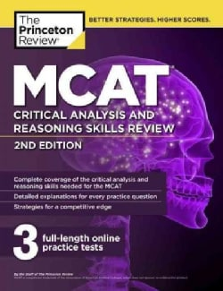 The Princeton Review MCAT Critical Analysis and Reasoning Skills Review (Paperback)