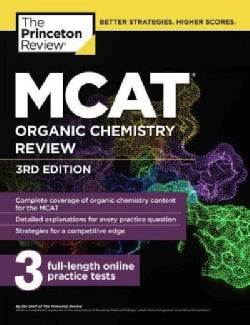 MCAT Organic Chemistry Review (Paperback)