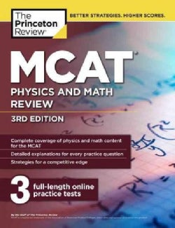 The Princeton Review MCAT Physics and Math Review (Paperback)