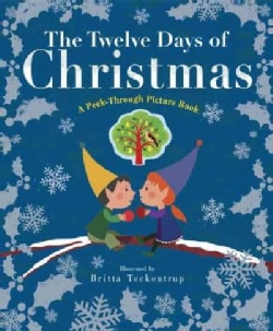 The Twelve Days of Christmas: A Peek-Through Picture Book (Hardcover)