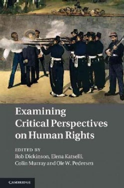 Examining Critical Perspectives on Human Rights (Hardcover)