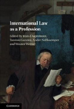 International Law As a Profession (Hardcover)