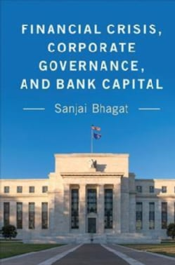 Financial Crisis, Corporate Governance, and Bank Capital (Paperback)