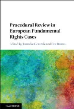Procedural Review in European Fundamental Rights Cases (Hardcover)