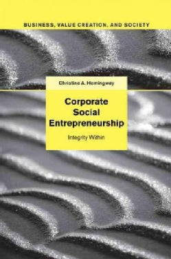 Corporate Social Entrepreneurship: Integrity Within (Paperback)