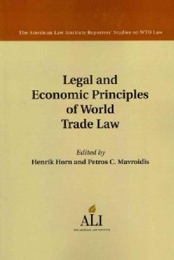 Legal and Economic Principles of World Trade Law (Paperback)