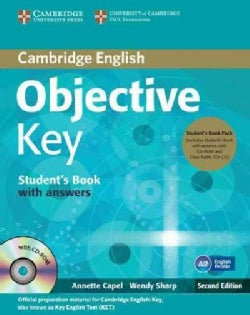 Objective Key Student's Book Pack: Student's Book With Answers + Cd-rom and Class Audio Cds (CD-Audio)