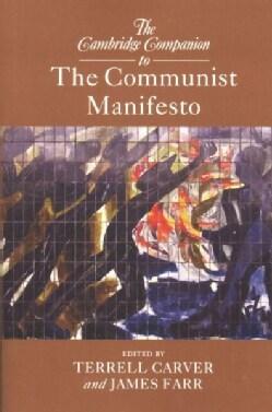 The Cambridge Companion to the Communist Manifesto (Paperback)
