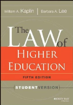 The Law of Higher Education (Paperback)