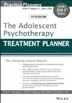 The Adolescent Psychotherapy Treatment Planner (Paperback)