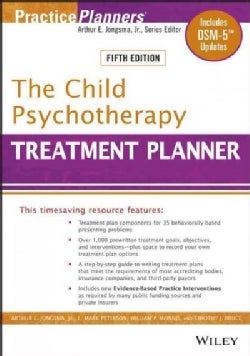 The Child Psychotherapy Treatment Planner: Includes Dsm-5 Updates (Paperback)