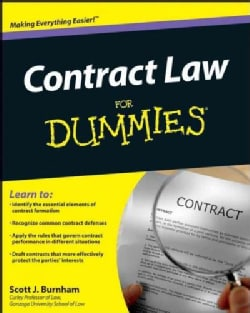 Contract Law For Dummies (Paperback)