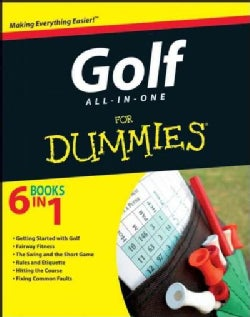 Golf All-in-One for Dummies (Paperback)