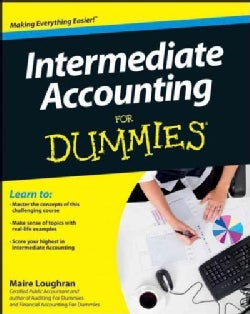 Intermediate Accounting for Dummies (Paperback)