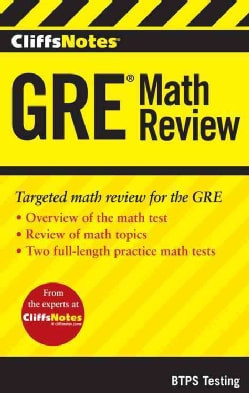 CliffsNotes GRE Math Review (Paperback)