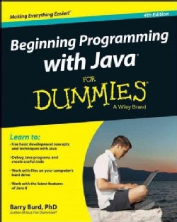 Beginning Programming With Java for Dummies + Website (Paperback)