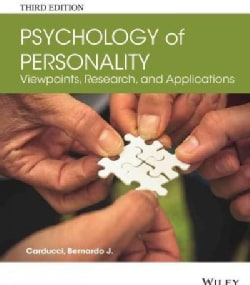 The Psychology of Personality: Viewpoints, Research, and Applications (Paperback)