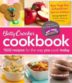 Betty Crocker Cookbook: 1500 Recipes for the Way You Cook Today: Box Tops for Education Special Edition  (Loose-leaf)
