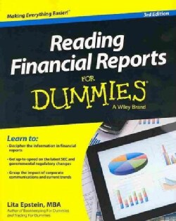 Reading Financial Reports for Dummies (Paperback)