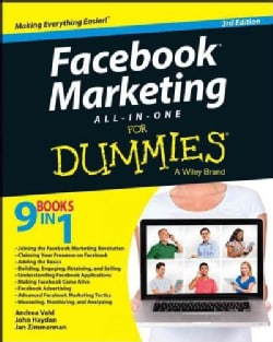Facebook Marketing All-in-One for Dummies (Paperback)