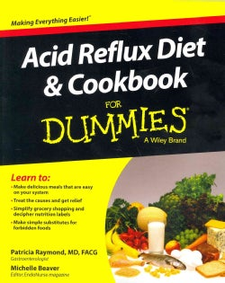 Acid Reflux Diet and Cookbook for Dummies (Paperback)