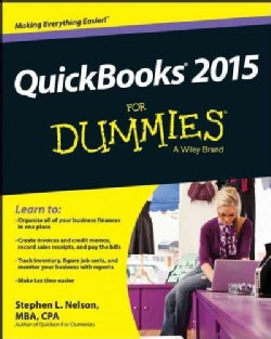 Quickbooks 2015 for Dummies (Paperback)