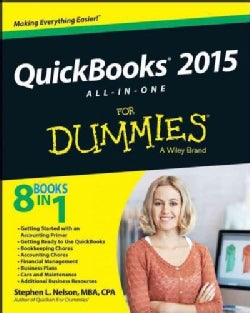 Quickbooks All-in-One for Dummies 2015 (Paperback)