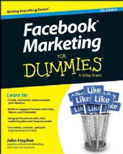 Facebook Marketing for Dummies (Paperback)