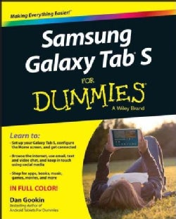 Samsung Galaxy Tab S for Dummies (Paperback)