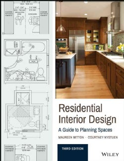 Residential Interior Design: A Guide to Planning Spaces (Paperback)