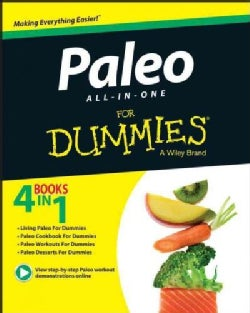 Paleo All-in-One for Dummies (Paperback)