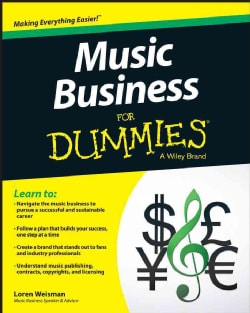 Music Business for Dummies (Paperback)